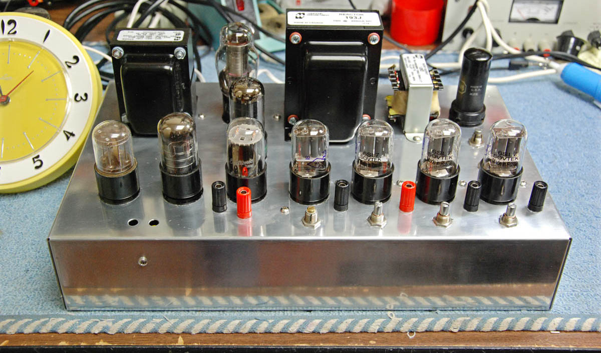Vacuum Tube Quartz Clock Part Ii Circuit Completed 400
