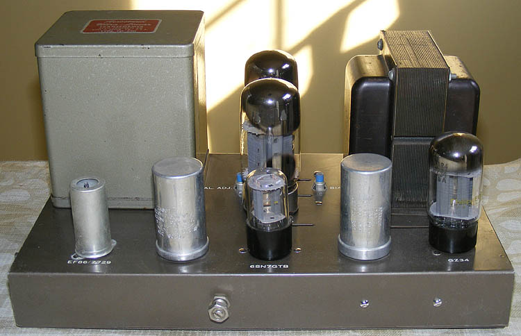 HF-60 with 6550s overall