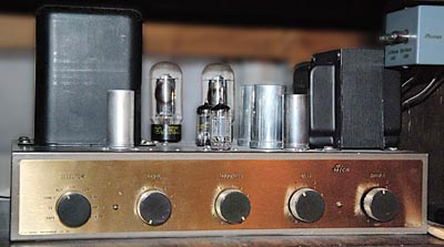 Photo of Eico HF-20 amplifier
