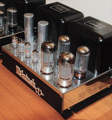 Pic of McIntosh MC-60 vacuum tube amp