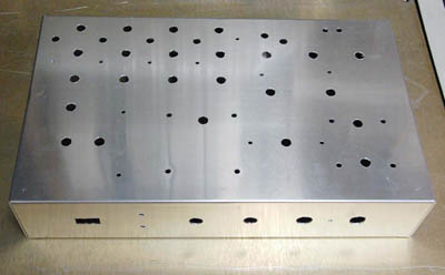 QC chassis drilled 400